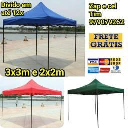tenda 3x3m e 2x2m