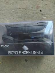 lanterna - farol - sinalização para bicicleta com buzina