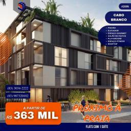 Título do anúncio: Apartamento para Venda em João Pessoa, Cabo Branco, 1 dormitório, 1 suíte, 1 banheiro, 1 v