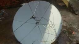 antena em bom estado com toda conequicao só estalar
