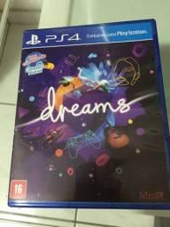 Jogo do PS4 novo  (dreams )