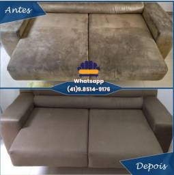 Limpeza e Higienização de Cadeiras Tapetes Sofás Colchão
