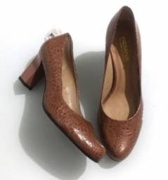 Sapato Nude Novo Não Faço Entrega