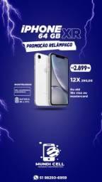 MUNDICELL VITRINE IPHONE XR 64GB MOSTRUÁRIO APPLE ANATEL DESBLOQUEADO GARANTIA