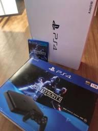 Caixa PS4 + jogo