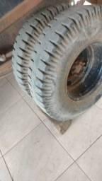 4 Pneus 750/16 Pirelli borrachudo