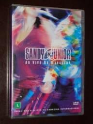 Título do anúncio: DVD sandy e junior ao vivo no maracanã lacrado