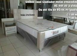 CAMAS BOX NA PROMOÇÃO DA LOJAS DO REI DO PREÇO BAIXO PREÇOS A PARTIR DE R$ 425,00