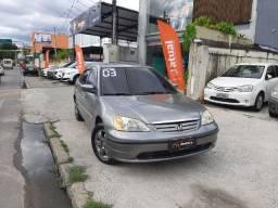 Honda Civic LX - Raridade - 2003