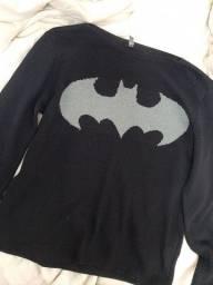 Casaco crochê Batman