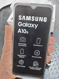 Samsung A10s NOVO SEM USO COMPLETO