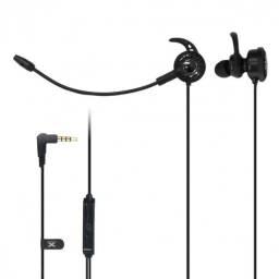 fone de ouvido gamer para celular vx flex com mic destacavel