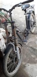 Bicicleta ex bike elétrica.