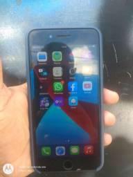 Vendo iPhone 8 plus tudo ok 64gb