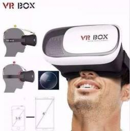 Óculos Realidade Virtual C/ Controle, Android/ios 360° Para Celular