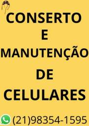 Conserto e Manutenção de Celulares
