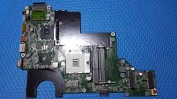 Placa mãe notebook LG C40 A410 da0ql7mb6e1 (com teclado)