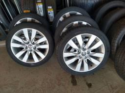Título do anúncio: 5 rodas Cerato aro 17 com pneus!!