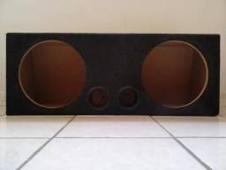 Box (caixa) para 2 sub de 12 polegadas (Seminovo)