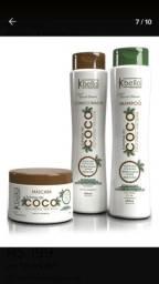 Kit shampoo condicionador +mascara