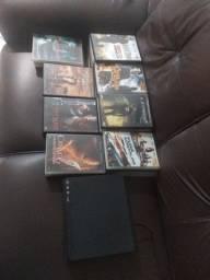 Aparelho de DVD e 32 filme