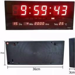 Relógio alarme temperatura