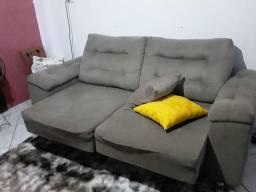 Sofá flexível se torna em cama