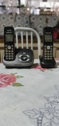 Telefone sem fio digital com ramal Panasonic