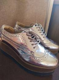 Sapato flatform via marte