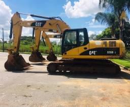3 Unidades Escavadeira CAT 320DL *Entrada de 10%
