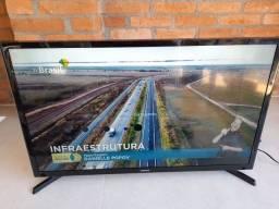 Smart TV 32 Samsung com defeito na tela