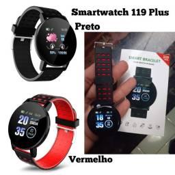 Lançamento Novo Smartwatch 119 Plus Resistente à Água