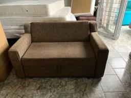 Sofá cama seminovo - entregamos
