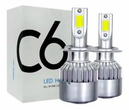 Lampada Led Automotiva H1 H3 H7 Hb3 Hb4 H27 Xenon Farol<br><br>124 opiniões<br><br>