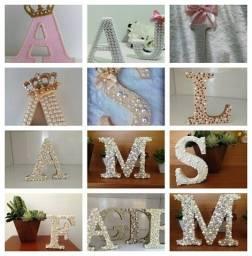 Artesanato! Letras em MDF!