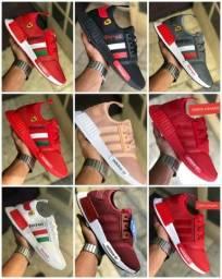Vendo tênis Adidas nmd e Asics ( 120 com entrega)