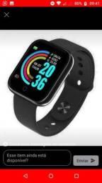 Smartwatch y68 D20 Black (Relógio inteligente)