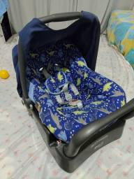 Bebê conforto com base. Burigotto