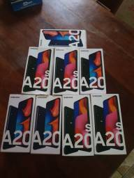 "Smartphone Samsung Galaxy A20s Dual Chip Tela 6.5"" Octa-Core 32GB<br><br>"
