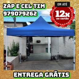 tenda Sanfonada 3x3m  reforçada