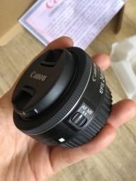 Lente grande angular Canon Efs 24mm F/2.8 Stm