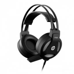 fone headset com microfone p2 stereo gamer h100 preto