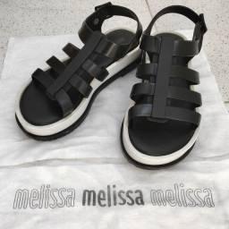 Melissa Flox III Preto/Branco Nº 35