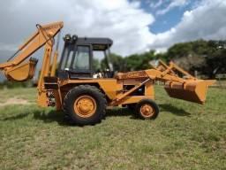 Retro Escavadeira Case 580H