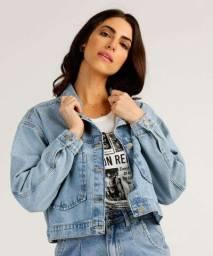Jaqueta jeans nova C&A