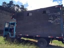 Baú carga viva para caminhão