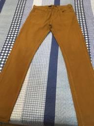 Calça jeans masculina caramelo TACO