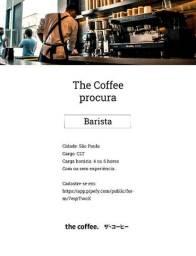 Barista   São Paulo