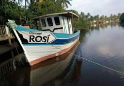 Pra vender logo, embarcação nova 10 metros , motor mwm 229, reversor Tramontin 3:1,