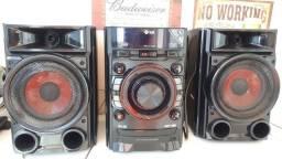 Mini system LG 180w - Conservado